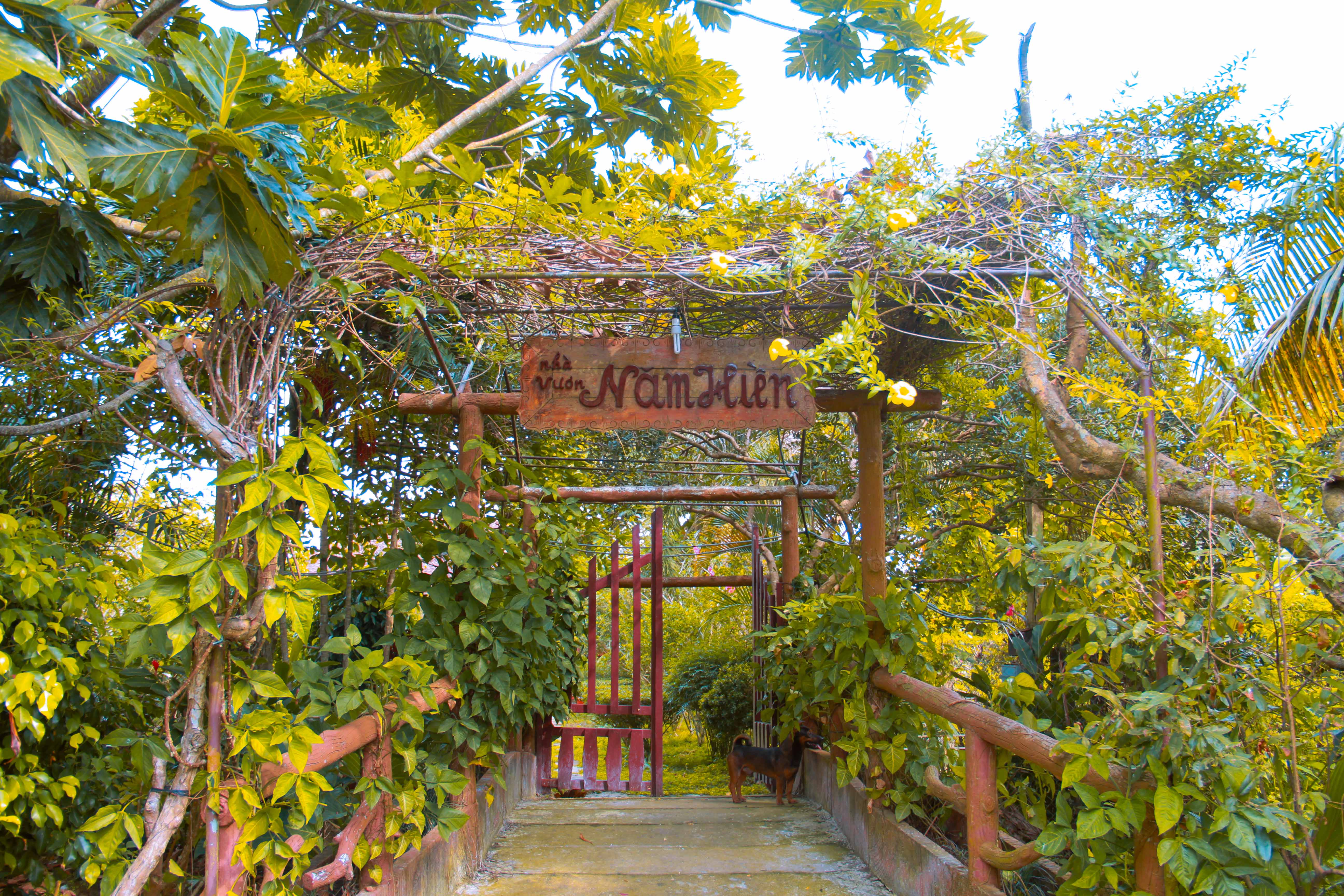 Điểm du lịch Nhà vườn Năm Hiền
